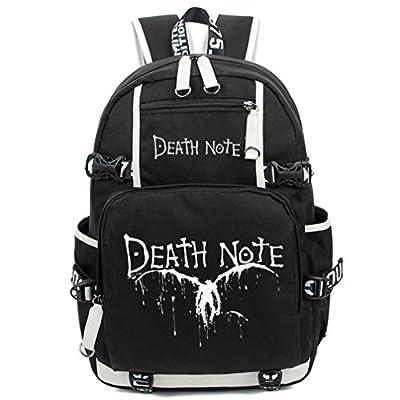 Gumstyle Death Note Luminous Backpack Anime Book Bag Casual School Bag | Kids' Backpacks