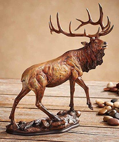 Elk Statue (Majesty - Elk Sculpture by Danny Edwards)