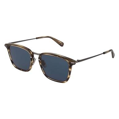 2c0876a18fb15 Sunglasses Brioni BR 0037 S- 004 AVANA   BLUE RUTENIUM at Amazon ...