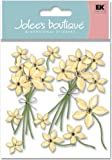 Jolee's Boutique SPJB227 Sticker 3D Cream Floral