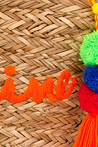 Fourre été pour femmes toile Soleil plage Styles tout varioues Sac large Orange Shopping n1WCad