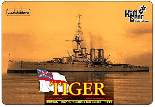 Combrig 1/350 Battlecruiser HMS Tiger, 1914, resin kit #3534FH CombrigModels