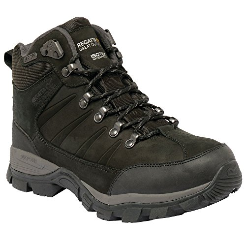 Boot Mid Regatta Walking Ladies Borderline Black xPp0qA40w