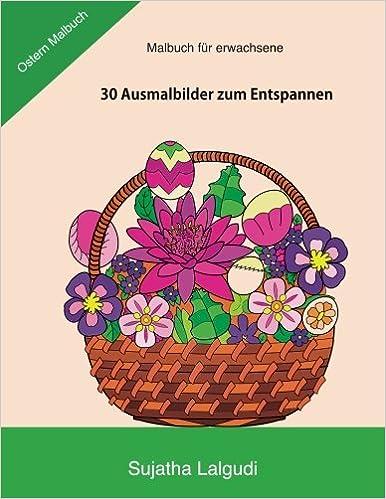 Malbuch fur erwachsene: Ostern Malbuch: Ausmalbücher für