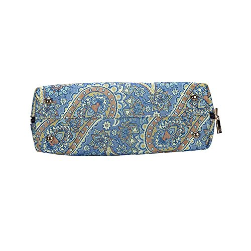 Womens Signare Tapestry Bag Convertible Fashion Shoulder Fabric Cashmere Bag wggErq