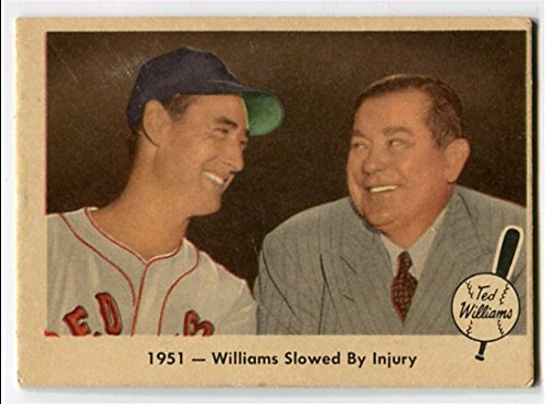 Fleer 1959 Ted Williams 1951 Williams Slowed By Injury Card #42 Boston Red Sox