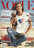 Vogue Magazine - December 2001: Gisele Bundchen Cover, Salma Hayek, Daniel Day-Lewis & More