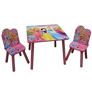 Sensational Disney Princess Wooden Table Chairs Girls Pink Furniture Set Kids Xmas Gift Evergreenethics Interior Chair Design Evergreenethicsorg