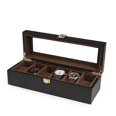 Cajas de Joyería Decorativas, Caja de Almacenamiento de Reloj de ...