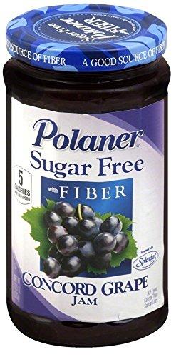 Polaner Grape Jelly Sugar-Free 13.5 oz. (3-Pack)