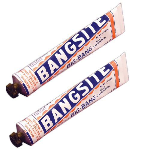(Set of 2 Tubes) Bangsite Carbide Ammo for Field Cannons - 100 Shots per Tube