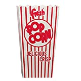 Great Northern 798985-OG-176596-O-884834 1278 50 Movie Theater Popcorn Boxes .79 Ounce Open Top, 79 Oz, White/Off/White