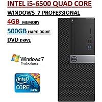 Dell Optiplex 3040MT High Performance Business Desktop PC ~ 6th Gen Intel i5-6500 Quad Core Processor ~ 4GB RAM ~ 500GB Hard Drive ~ DVD Drive ~ Windows 7 Professional.