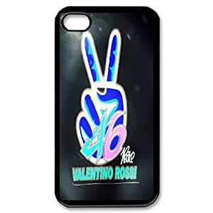 Cell Phone case Valentino Rossi VR 46 Cover Custom Case For iPhone 4,4S MK8Q843329