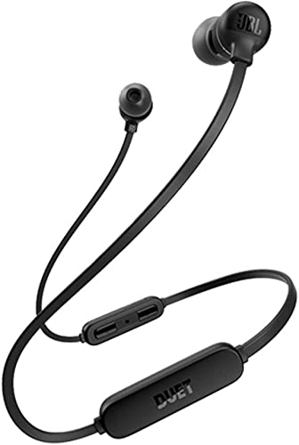 JBL Duet Mini 2 Bluetooth Wireless In-Ear Headphones – Black Renewed