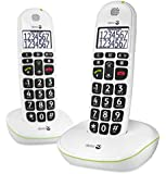 Doro Phone Easy 110 Duo téléphone fixe filaire Blanc