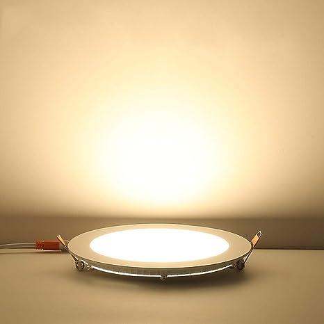 XAJGW Luz empotrada de techo LED - Focos reflectores ...