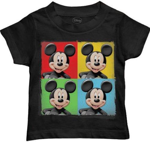 Disney Boy's Four Up, Black, 4T