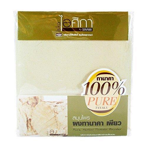 Tanaka Powder, Whitening, 100% Pure Herbal Facial Mask, 50g   BeautyBreeze