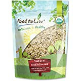 Food to Live Certified Organic HEMP SEEDS (Raw, Hulled) (2 Pounds)