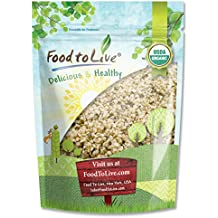 Canadian Organic Hemp Seeds by Food to Live (Raw Hearts, Hulled, Non-GMO, Bulk) — 0.5 Pound