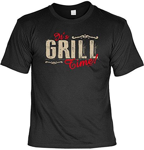 64b0bbc06ab1 T-Shirt - It s Grill Time - lustiges Sprüche Shirt als Geschenk für Grill  Fans