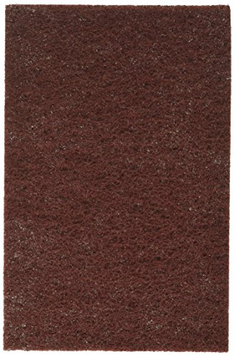 - Mercer Abrasives 285MRN-20 6-Inch by 9-Inch Non-Woven Industrial Strength Hand Pads, Maroon, 20-Pack