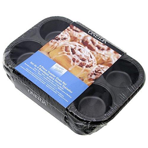 Oneida 4pc Non-Stick Toaster Oven Bakeware Set