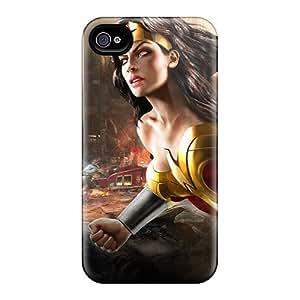 LauraAdamicska Iphone 6 Shock Absorbent Hard Phone Case Provide Private Custom Beautiful Wonder Woman Dc Universe Online Pattern [DWC19477LXnX]