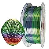 Silk Rainbow PLA Filament 1.75mm 3D Printer