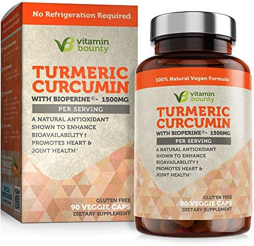 Vitamin Bounty Turmeric Curcumin Supplement 1500mg