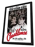 Casablanca - 27 x 40 Framed Movie Poster