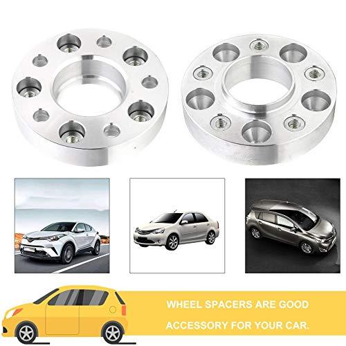 Eduton 2x20mm 5x108 Spacers Adaptateur de Roue pour Ford pour Seat Jaguar pour Volkswagen