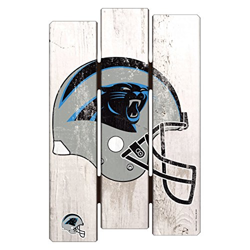 NFL Carolina Panthers Wood Fence Sign, 11