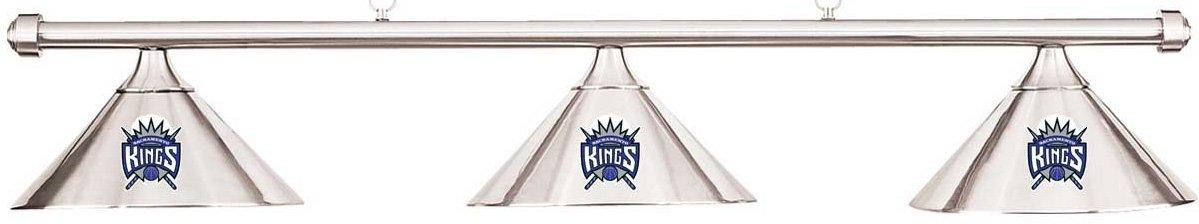 NBA サクラメントキングス クロームメタルシェード&クロムバービリヤードプールテーブルライト B01M1VW93A B01M1VW93A, ニュウカワムラ:d20778e3 --- gamenavi.club
