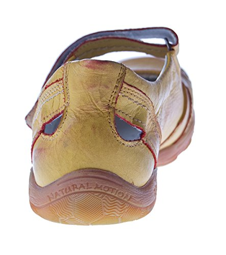 femme orange 2007 kristofer mules sandales en cuir Ballerines mangue 4wavTqZ77