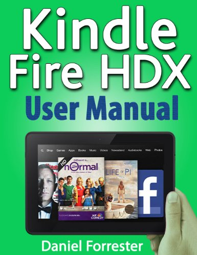 kindle fire hdx manual free download