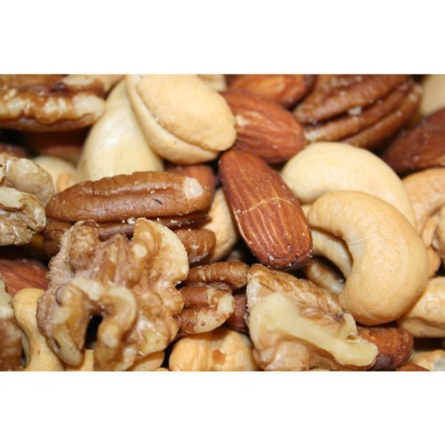 Deluxe Mixed Nuts Roasted and Salted, 10 Lbs by Bayside Candy