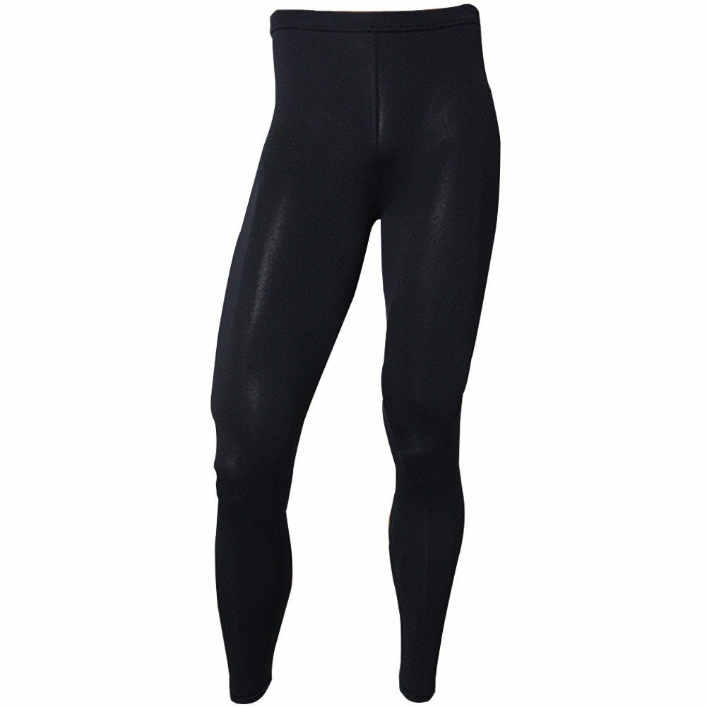 Men's Thermal Underwear Tights Leggings Base Layer Compression Pants Black ECP Henri maurice