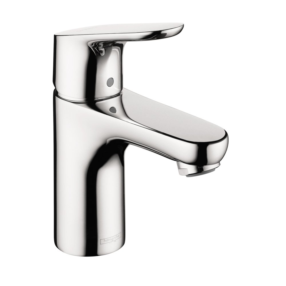 Hansgrohe 4371000 Focus E 100 Single Hole Faucet, Chrome   Bathroom Sink  Faucets   Amazon.com