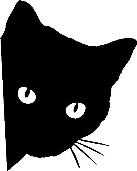 Posh House Cat Wall Art Sticker Large Vinyl Transfer Graphic Decal Decor UK CA22
