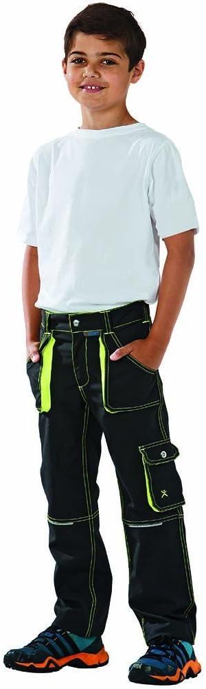 Planam 6110086 Pantalon Taille 86//92 Anthracite//Jaune