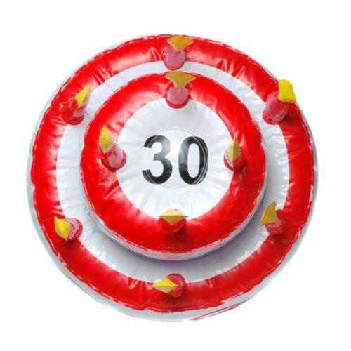 30 ans Unbekannt Gateau danniversaire gonflable
