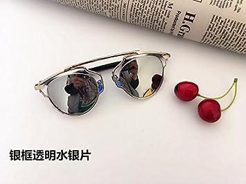 Burenqi Polarisierende Sonnenbrillen, Sonnenbrillen, antiken großen runden Rahmen fahren Gläser gegen UVA- und UVB-Strahlen, EIN