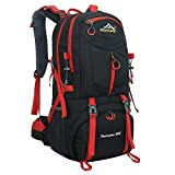 Hiking Backpack Nylon Waterproof Large Capacity 60L Daypack for Outdoor Sports Travel Fishing