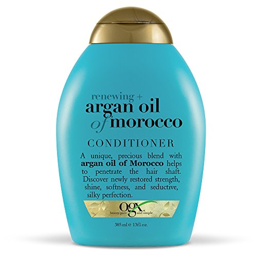 OGX Renewing + Argan Oil of Morocco Conditioner, 13 Ounce (Organix Moroccan Argan Oil On Natural Hair)