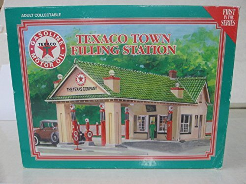 texaco-town-filling-station-adult-collectable-first-in-the-series-1995