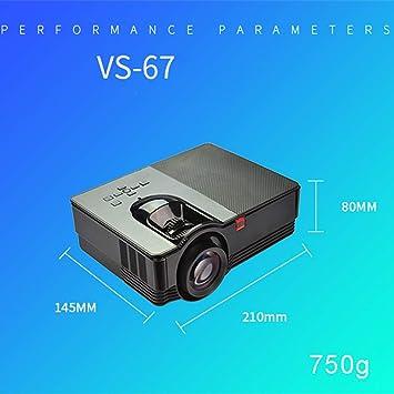 jkl Proyector 3D Vs67 pequeño - Compatible con WiFi y 1080P ...