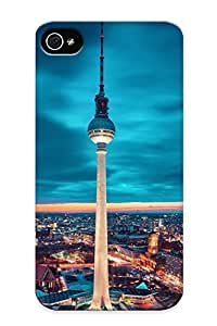 MjzquuI3687BJhdL Tpu Case Skin Protector For Iphone 4/4s Fernsehturm Berlin With Nice Appearance For Lovers Gifts
