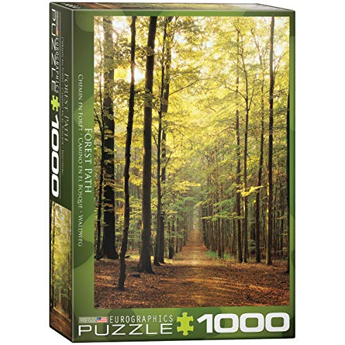 Forest 1000 Piece Puzzle - Eurographics Forest Path 1000-Piece Puzzle